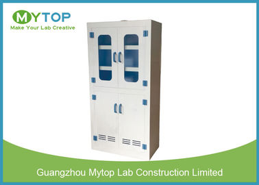 Hospital PP Plastic Laboratory Chemical Storage Cabinets , Acid Storage Containers