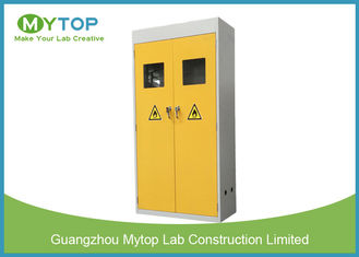 Industrial Metal Vented Gas Cylinder Storage Cabinets , Flammable Gas Storage Cabinets