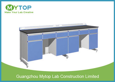 Customized Hospital Lab Furniture With Epoxy Resin Worktop Alkali - Resistant