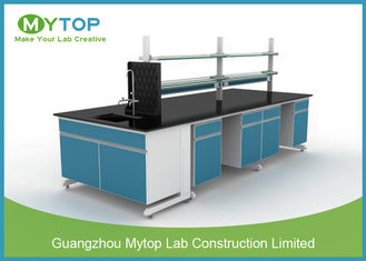 China Modern Chemistry Laboratory Cabinets And Countertops , School Science Furniture supplier