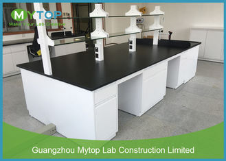 Ceramic Worktop Lab Bench Furniture For Microbiology General Laboratory Alkali Resistant