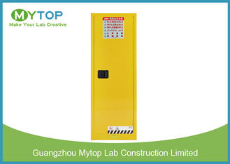 Yellow Flammable Gas Storage Cabinets Chemical Safety Storage