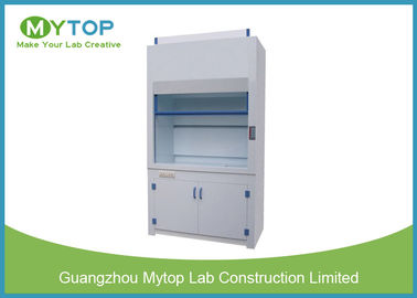 4ft Lab Polypropylene Fume Hood For Strong Acid And Alkali Testing Exhausting System