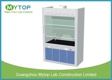 China Chemical Resistance Laboratory Fume Hood / Fume Cupboard Anti - Corrosion supplier