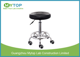 China Modern Multi Function ESD Lab Chairs , Armless Laboratory Stool Chair supplier