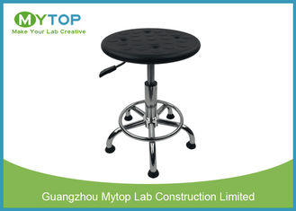 Rotating Laboratory PVC Surface  ESD Lab Stool For Electronic Product Factory