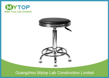 Wholesales Economic Student PU Leather Surface  ESD Lab Stool With Stainless Steel Gas Lift
