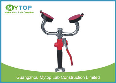 High Pressure 	Laboratory Fittings Spray Desktop Double Eye Wash For Lab Bench