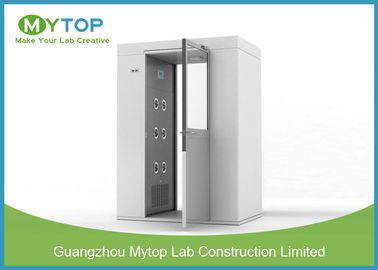 304 SS Air Shower Clean Room Lab Equipment Passage For Pharmaceutical Factory