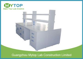 Strong Science Laboratory Furniture , Science Lab Workstations For Research Department