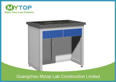 Science Laboratory Balance Table , Biological Lab Desk Furniture Anti Vibration