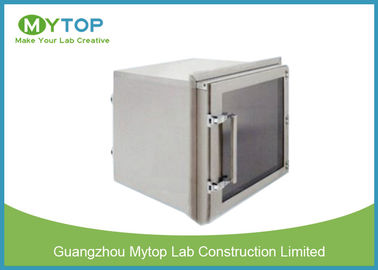 Lab 304 Stainless Steel Pass Box GMP Standard For Pharmaceutical Clean Room