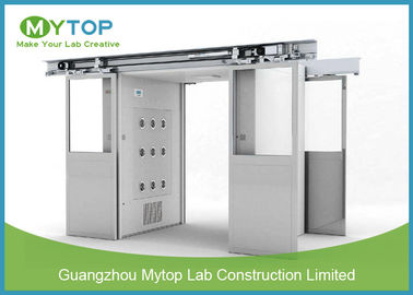 Class 100 Clean Room Lab Equipment , Goods Air Shower Passage For Food Factory