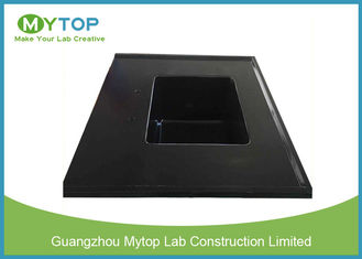 Integrated Chemical Resistant Epoxy Resin Lab Sinks With Laboratory Water Basin