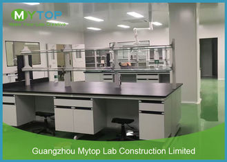 Floor Mounted Lab Bench University Laboratory Furniture For Biology Laboratory