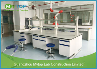 Hospital Pathology Modular Laboratory Furniture Lab Bench Table Anti - Bacteria