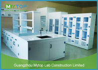 PP Material Hospital Laboratory Furniture Lab Workbench Alkali Resistance