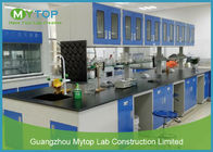 China Mobile Cabinet Lab Table Metal Laboratory Furniture For Chemistry Physical Lab company