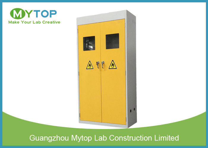 Industrial Metal Vented Gas Cylinder Storage Cabinets  Flammable Gas Storage Cabinets  sc 1 st  Modern Laboratory Furniture & Industrial Metal Vented Gas Cylinder Storage Cabinets  Flammable ...