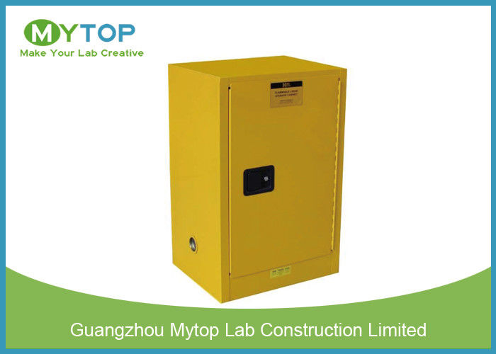Yellow Flammable Gas S...