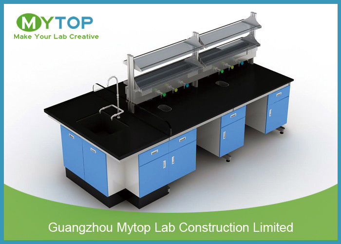 Lab Cabinets And Countertops Starch Resistance , Modular Laboratory  Furniture
