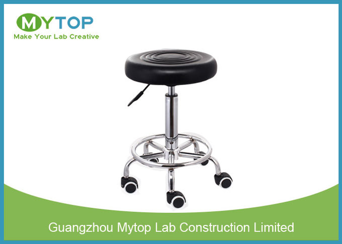Modern Multi Function ESD Lab Chairs , Armless Laboratory Stool Chair